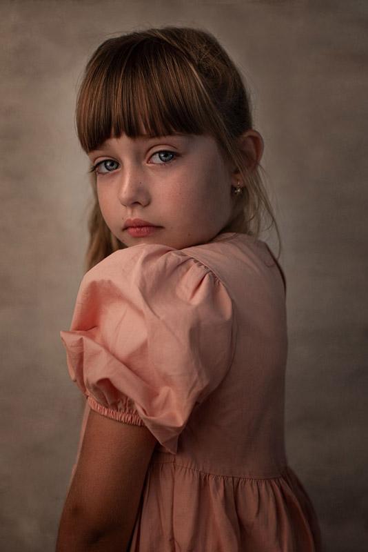 fine art portret dievcatka